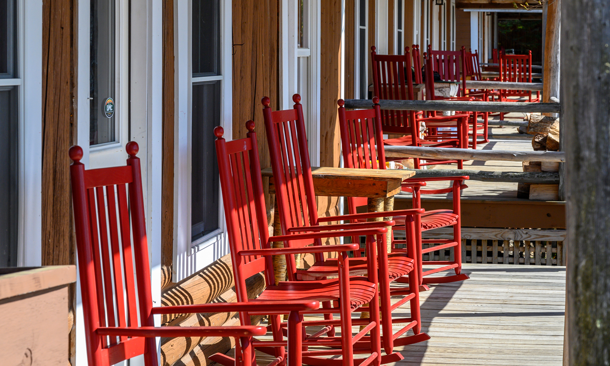Bald Mountain Camps chairs